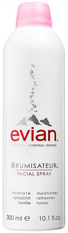 Nước xịt khoáng Natural Mineral Water Evian 300ml