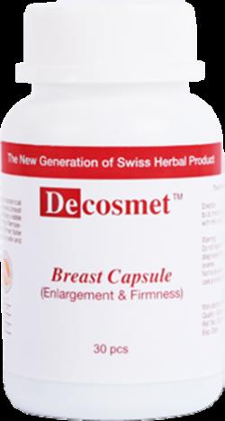 Viên uống nở ngực Decosmet Breast Capsule