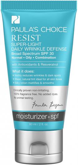 Kem dưỡng ngày, chống lão hóa dành cho da dầu Paula's Choice Resist Super - Light Daily Wrinkle Defence SPF 30