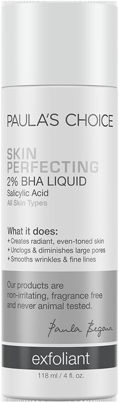 Dung dịch loại bỏ tế bào chết Paula's Choice Skin Perfecting 2‰ BHA Liquid Exfoliant 118ml