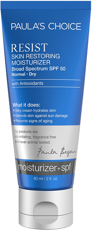 Kem dưỡng ngày chống lão hóa dành cho da khô Paula's Choice Resist Skin Restoring Moisturizer With SPF 50