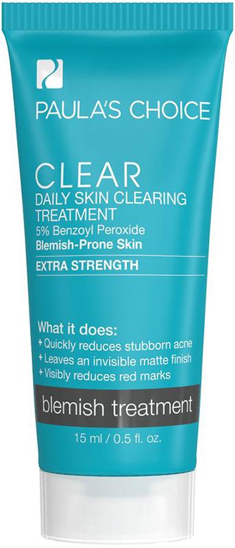 Kem giảm mụn chuyên sâu Paula's Choice Clear Extra Strength Daily Skin (5‰ Benzol) 15ml