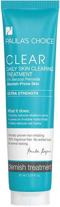 Kem giảm mụn chuyên sâu Paula's Choice Clear Extra Strength Daily Skin (5% Benzol) 67ml