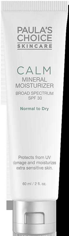 Sữa dưỡng ẩm ban ngày chống lão hóa dành cho da khô nhạy cảm Paula's Choice Calm Redness Relief SPF 30 Moisturizer for Normal to Dry