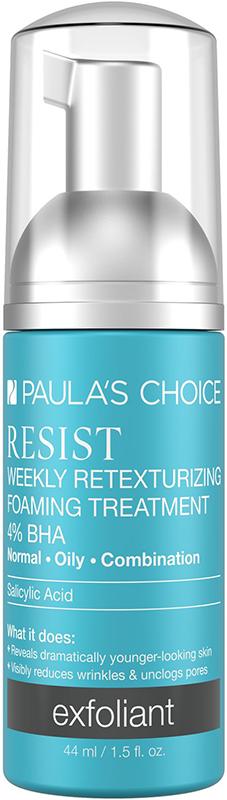 Kem tái tạo da mụn và chống lão hóa Paula's Choice Resist Weekly Retexturizing Foaming Treatment 4‰ BHA