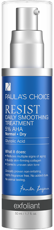 Dung dịch làm mềm da Paula's Choice RESIST Daily Smoothing Treatment  With 5‰ AHA 50ml