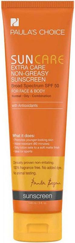 Kem chống nắng siêu chịu nước Paula's Choice Extra Care Non  Greasy Sunscreen SPF 50