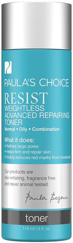 Nước hoa hồng cho da dầu và lão hóa Paula's Choice Resist Weightless Advanced Repairing Toner