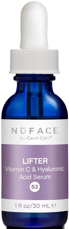 Serum dưỡng trắng, cấp ẩm và làm mờ nếp nhăn NuFACE Lifter Vitamin C & Hyaluronic Acid Infusion Serum