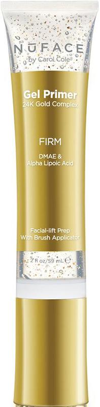 Gel massage chứa tinh thể vàng 24K dưỡng ẩm làm sáng da Nuface Gel Primer 24K Gold Complex - Firm