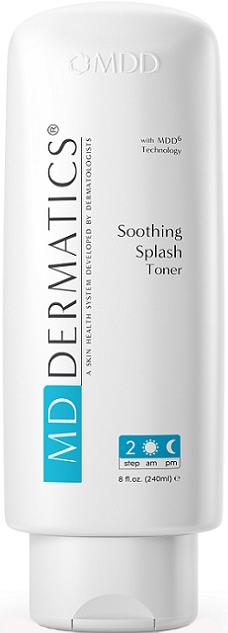 Nước hoa hồng làm sạch sâu se khít lỗ chân lông MD Dermatics Soothing Splash Toner