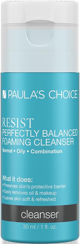 Sữa rửa mặt cân bằng da hoàn hảo Paula's Choice Resist Perfectly Balanced Foaming Cleanser 30ml