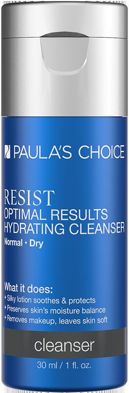 Sữa rửa mặt dưỡng ẩm hiệu quả tối ưu Paula's Choice Resist Optimal Results Hydrating Cleanser 30ml
