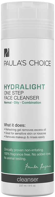 Sữa rửa mặt dưỡng ẩm, làm sáng da Paula's Choice Hydralight One Step Face Cleanser