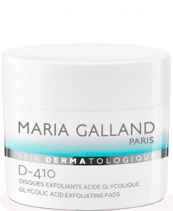 Cotton cân bằng và tẩy da chết Maria Galland Glycolic Acid Exfoliating Pads