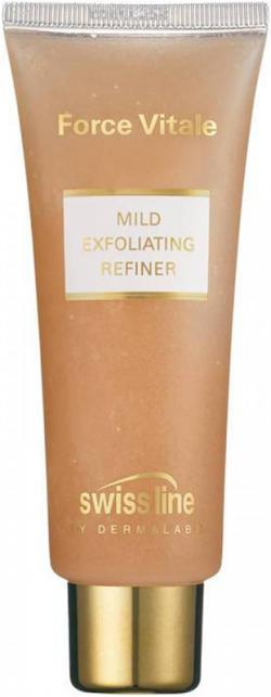 Gel rửa mặt hạt tẩy nhẹ tế bào chết Swissline Mild Exfoliating Refiner
