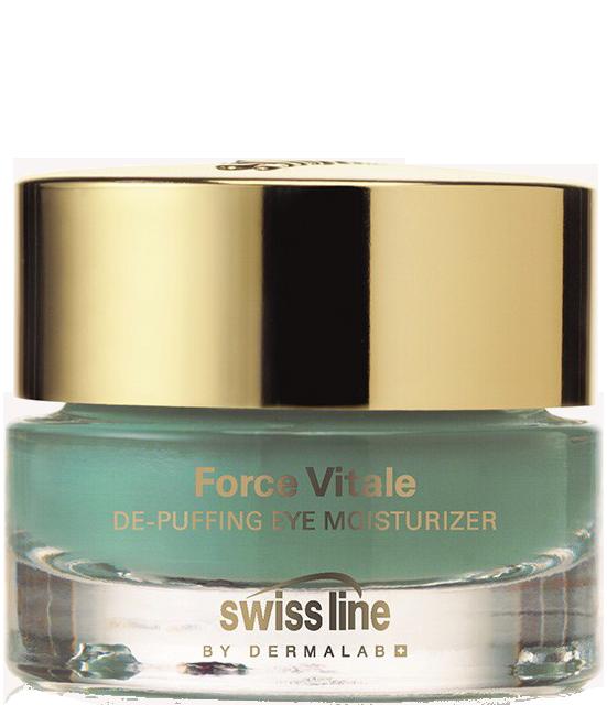 Gel đặc giúp giảm bọng mỡ và quầng thâm mắt Swissline De Puffing Moisturizer