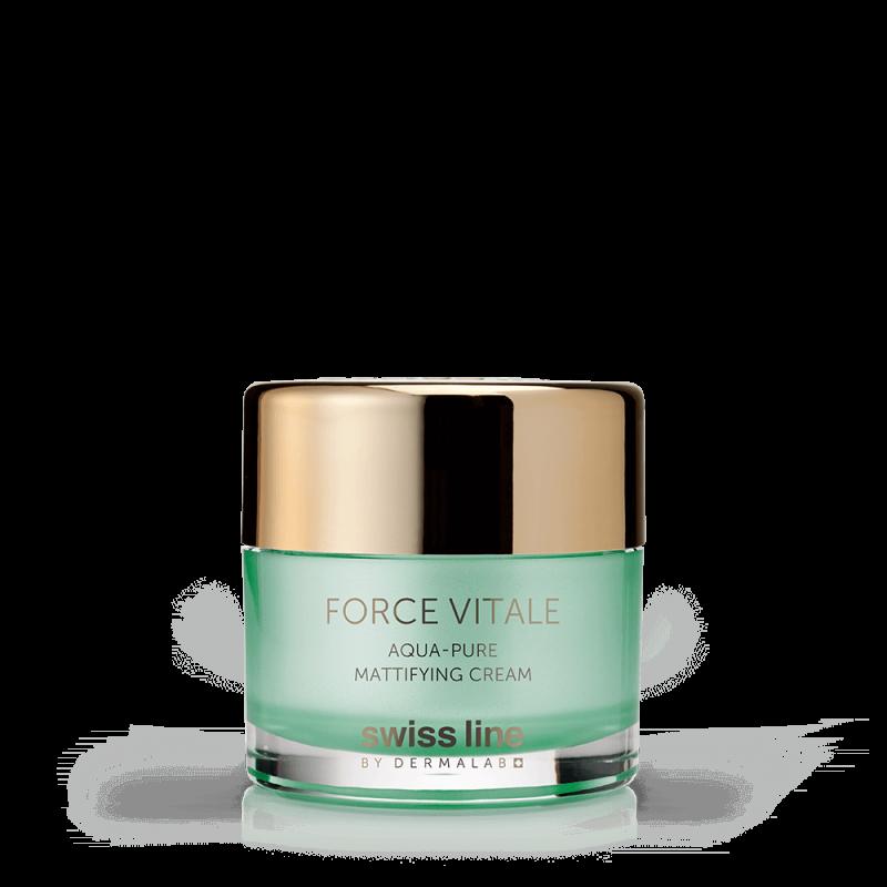 Kem đặc trị da dầu mụn và phục hồi tổn thương Aqua-Pure Mattifying Cream