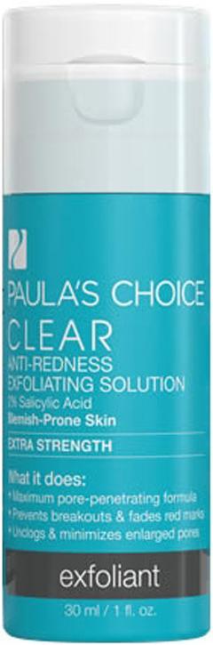 Dung dịch giảm mụn, tẩy da chết chuyên sâu Paula's Choice Clear Extra Strength Anti-Redness Exfoliating Solution 30ml