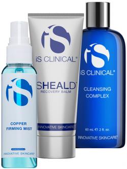 Bộ sản phẩm dưỡng phục hồi da sau điều giúp giảm Is Clinical