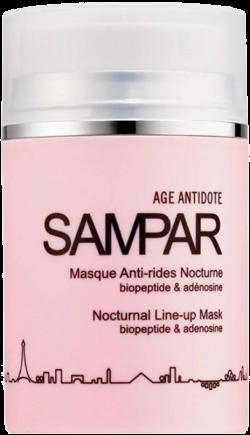 Mặt nạ chống lão hóa ban đêm Sampar Nocturnal Line-Up Mask