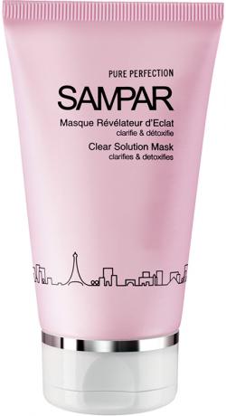 Mặt nạ thu nhỏ lỗ chân lông, thanh lọc & làm da sáng mịn Sampar Clear Solution Mask