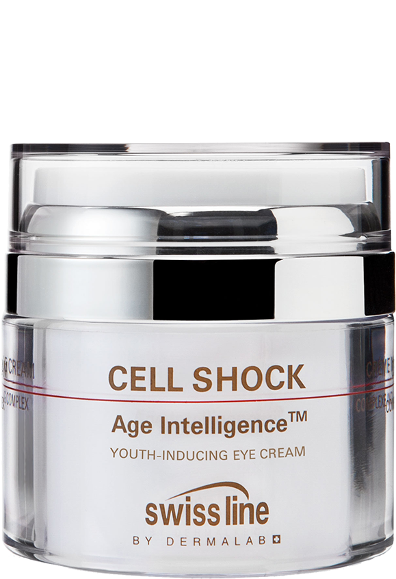 Kem trẻ hóa da vùng mắt Swissline Cell Shock Age IntelligenceTM Youth-Inducing Eye Cream