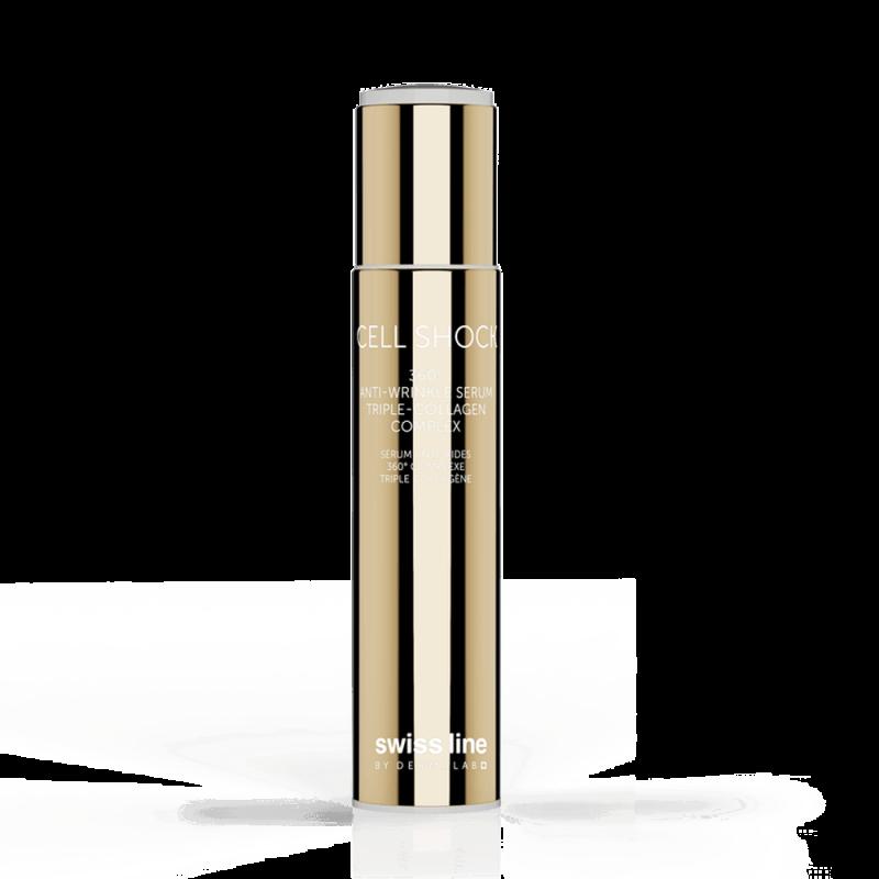 Tinh chất giảm nhăn Swissline 360 Anti-Wrinkle Serum Triple Collagen Complex