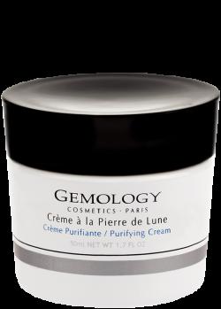 Kem dưỡng thanh lọc da nhờn, bài tiết bã nhờn, se khít chân lông chứa đá mặt trăng Gemology Purifying Cream