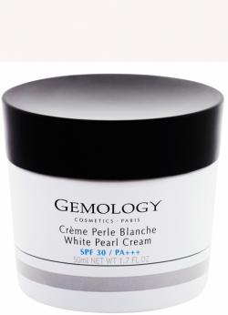 Kem dưỡng trắng da chiết xuất ngọc trai Gemology White Pearl Cream SPF30 PA+++