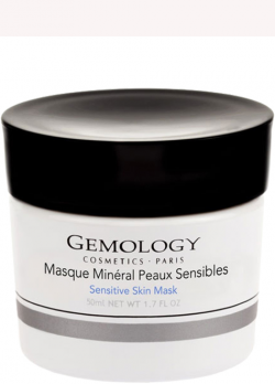 Mặt nạ chứa đá thiên thanh và nụ cây bạch hoa dành cho da nhạy cảm Gemology Sensitive Skin mask