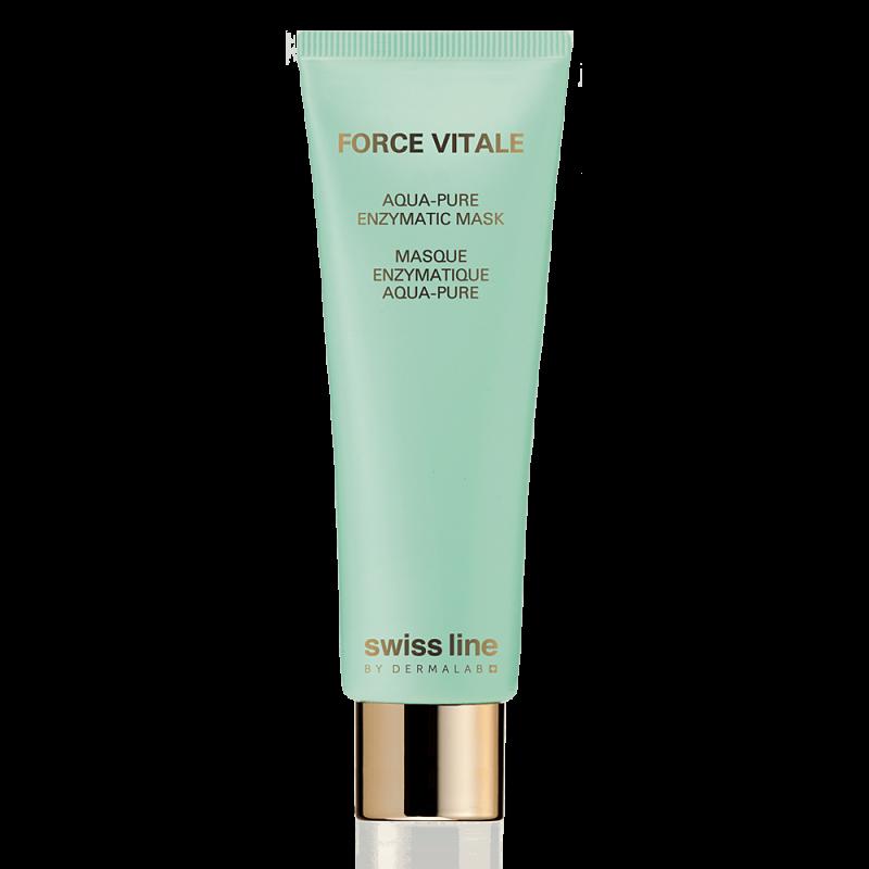 Mặt nạ tinh khiết da, đặc trị dầu, mụn & phục hồi da Swiss Line Force Vitale Aqua-Pure Enzymatic Mask