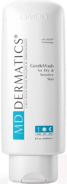 Sữa rửa mặt cho da khô và da nhạy cảm MD Dermatics Gentlewash