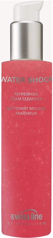 Sữa rửa mặt làm tươi mới và tinh khiết da Swissline Water Shock Foam Cleanser