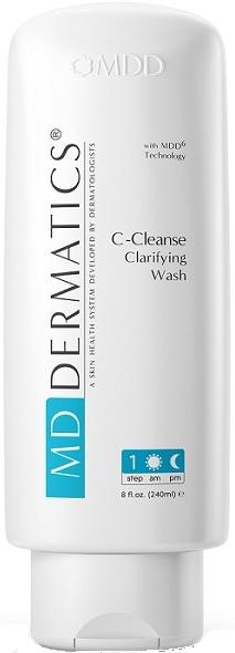 Sữa rửa mặt cho da nhờn MD Dermatics C-Cleanse Clarifying Wash