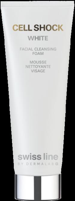 Sữa rửa mặt tinh khiết da trắng sáng hoàn hảo Swissline Cell Shock Facial Cleansing Foam