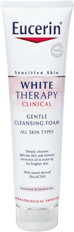 Sữa rữa mặt trắng sáng da Eucerin White Cleansing Foam