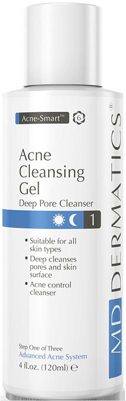 Sữa rửa mặt giảm mụn MD Dermatics Acne Cleansing Gel