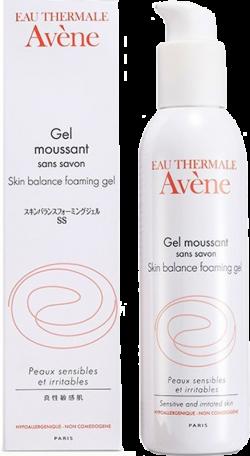 Gel rửa mặt cân bằng cho da nhạy cảm Avene Skin Balance Foaming Gel