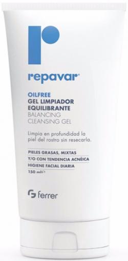 Gel rửa mặt cân bằng cho da nhờn mụn Repavar Olifree Balancing Cleansing Gel