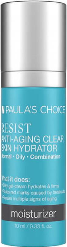 Kem dưỡng ẩm cho da nhạy cảm và lão hóa Paula's Choice Resit Anti-Aging Clear Skin Hydrator 10ml