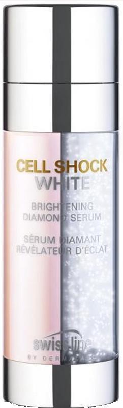 Serum giảm nám, đốm nâu, dưỡng trắng da Cell Shock Whitehd Brightening Diamond Serum