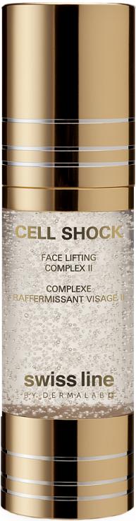 Hỗn hợp săn chắc cơ và nâng đỡ da mặt thế hệ II Cell Shock Face Lifting Complex II