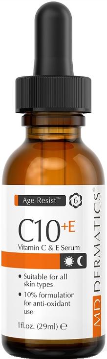 Tinh chất trẻ hóa da chống lão hóa MD Dermatics C10 Vitamin C&E