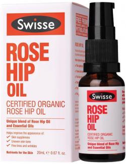 Tinh dầu hoa hồng dưỡng da giảm nhăn Swisse Rose Hip Oil