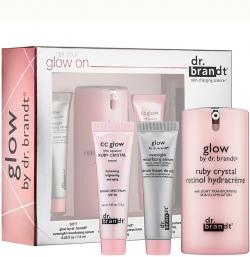 Bộ sản phẩm kem dưỡng da chống lão hóa Dr.Brandt Get Your Glow On Limited Edition