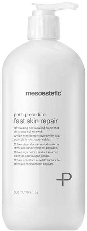Kem cấp ẩm làm dịu da Mesoestetic Fast Skin Repair 500ml