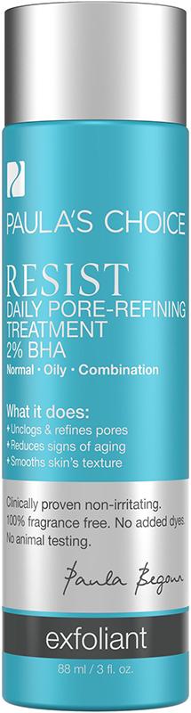 Tinh chất giúp se khít lỗ chân lông Paula's Choice Resist Daily Pore Refining Treatment  2‰ BHA 88ml