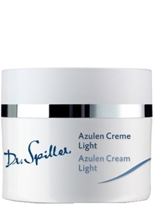 Kem dưỡng chống kích ứng cho da dầu Dr Spiller Azulen Cream Light
