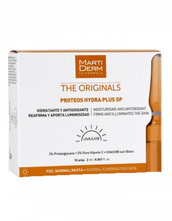 Tinh chất dưỡng ẩm, chống nắng, chống lão hóa Martiderm Proteos Hydra Plus SP